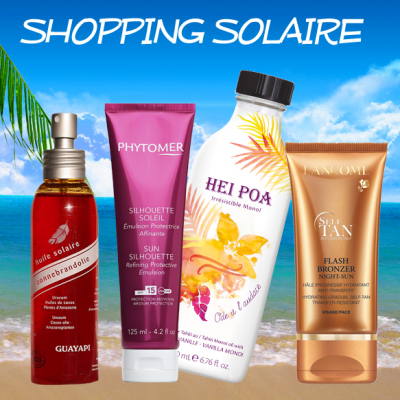 Discover new sunscreen products !