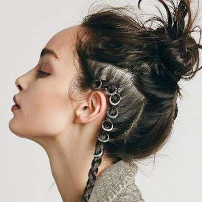 Nouvelle tendance cheveux: Hair Rings!