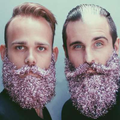 Celebration It Look for men : the sparkling beards