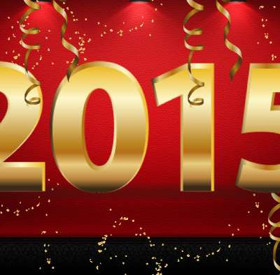 We wish you all a very happy new year 2015 !
