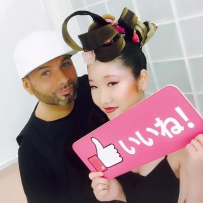 Jean-Michel Faretra au Japon avec Wella