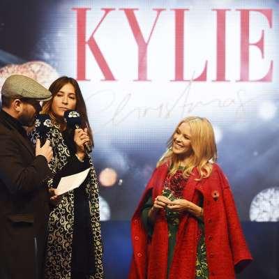 ¡ Kylie Minogue ilumina Londres !