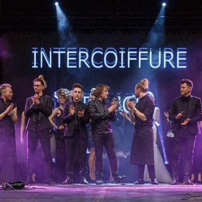 Back on the Intercoiffure France's show at the Beauté Sélection in Nantes