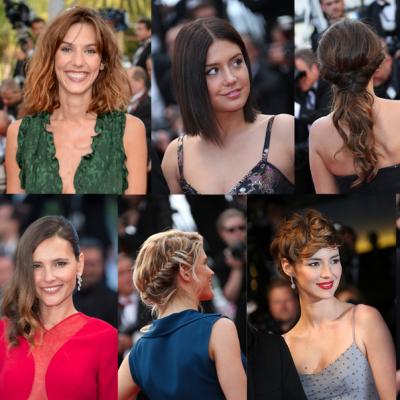 FESTIVAL DE CANNES - les plus belles coiffures du red carpet