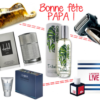 Special Father's Day gifts Beauty shopping 100% male !