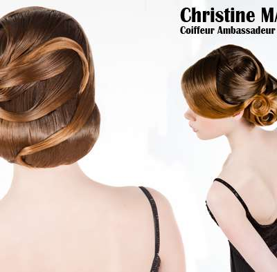 BEFORE/AFTER - Couture Chignon for the celebrations