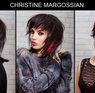 Black shaggy hair Christine Margossian IT LOOKS PE 2015