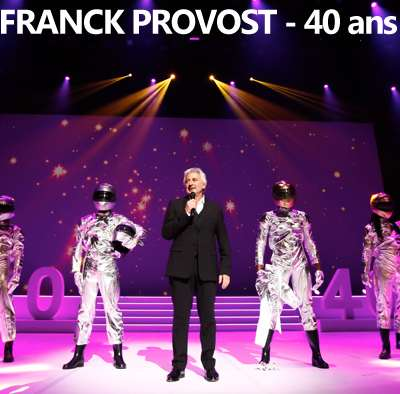 Franck Provost celebrates his forty year career