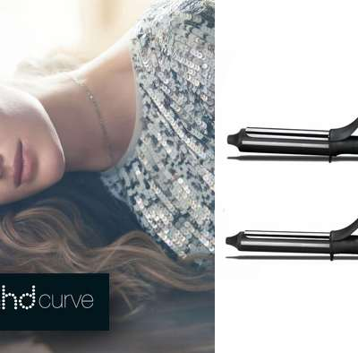 GHD Curve Tongs : Curls for all night long !