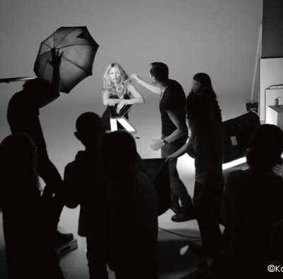 Kate Moss, une beauté au service de Kérastase