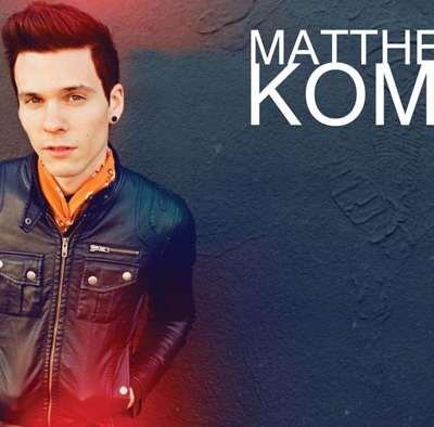 MATTHEW KOMA, révélation pop