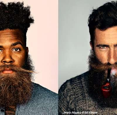 Les hommes et la barbe