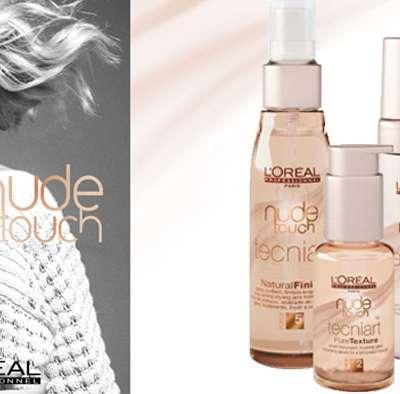 Nude Touch, nouvelle gamme de coiffage par l'Oréal Professionnel