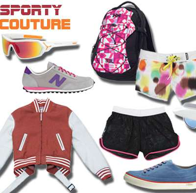 SHOPPING : Sporty couture