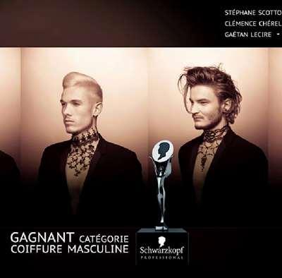 Stéphane Scotto Di Cesare gagne le prix de la Coiffure Masculine aux Hairdressings Awards !