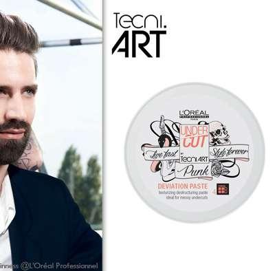 Tous les looks sont permis pour vous Messieurs avec Tecni Art Undercut par L'Oréal Professionnel !