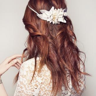 10 accesorios de pelo para una boda feliz