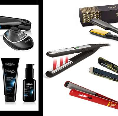 A dream hair with the professional hair straighteners