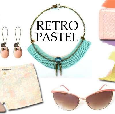 SHOPPING : Rétro-Pastel
