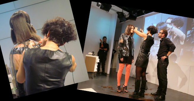 Charlie Le Mindu Fashion Show in Paris, Paris Fashion Week, Haute Couture Spring Summer 2014 Collection