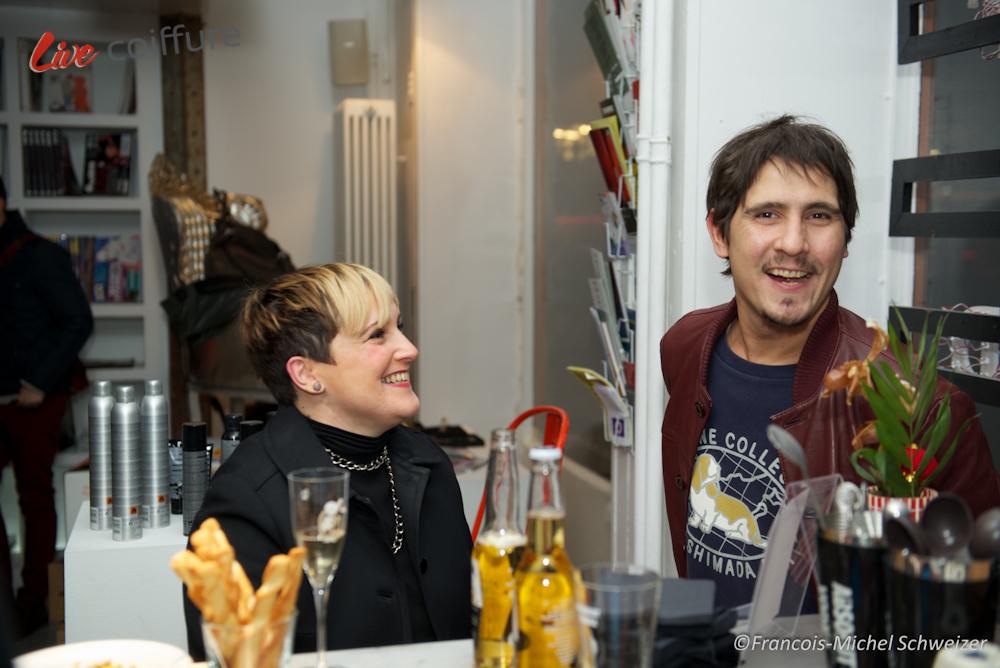 Reportage, Bal des Createurs, salon de coiffure, soiree