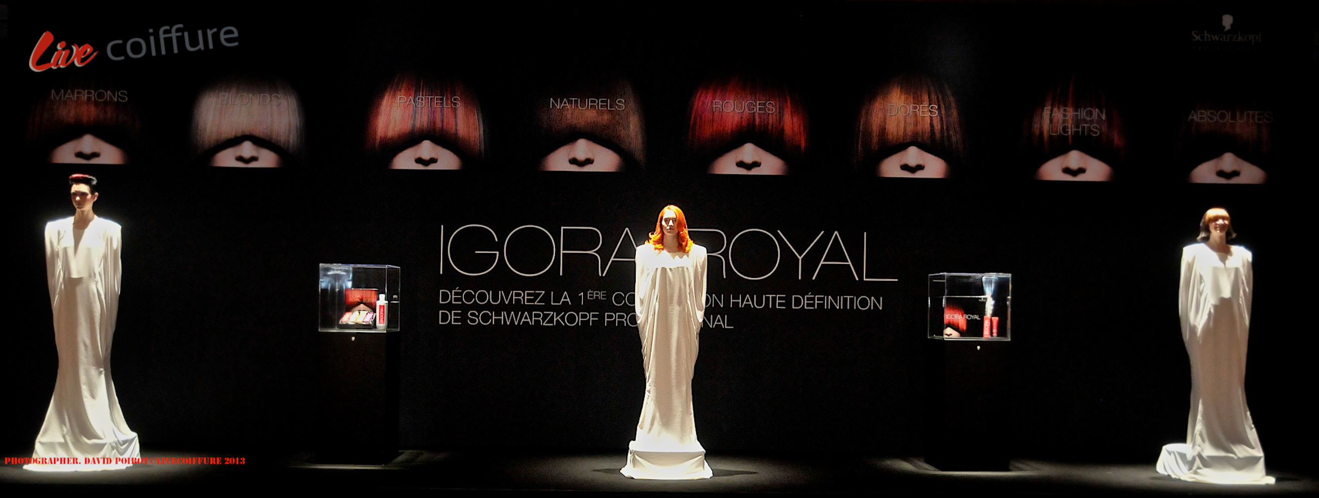 discover in pictures igora royal during the evening hairdressing awards - Coloration Igora Royal