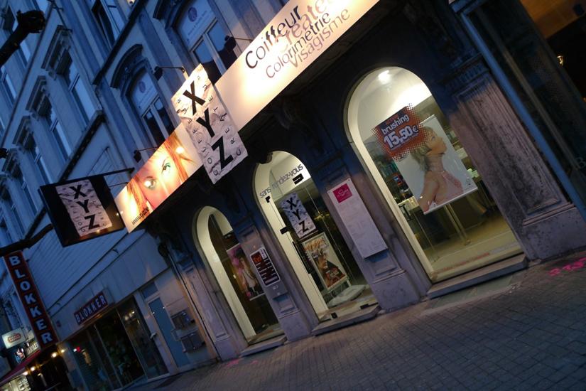 The salons XYZ in Belgium