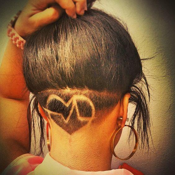 Причёска на затылке