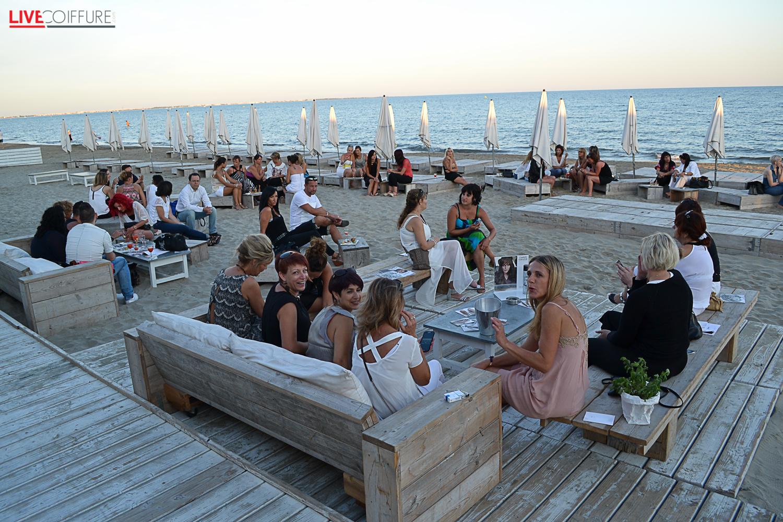 Soir e v nement de la marque keune au white beach grande for Salon de coiffure la grande motte
