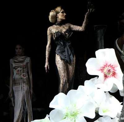 Christine Margossian au service de la Haute Couture -Défilé Denis Durand-
