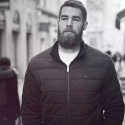 Swann Balan sharpen up your beard game