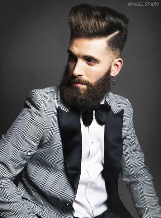 nuestros peinados de fiesta favoritos para los hombres