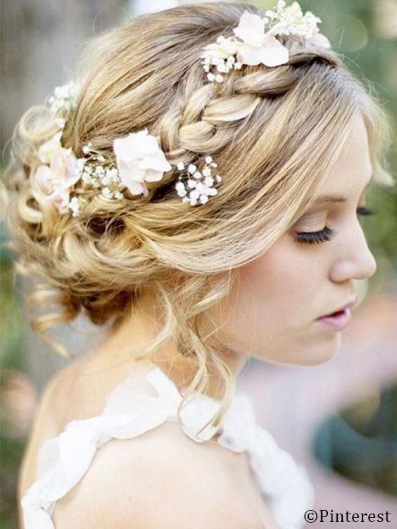 Peinados de boda bonitos
