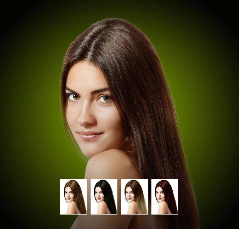 Tester une couleur de cheveux virtuellement