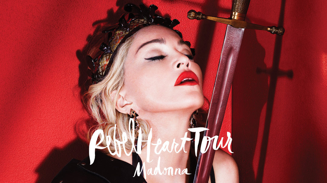 Concentré de tendances : Rebel Heart Tour 2015-16 by MADONNA