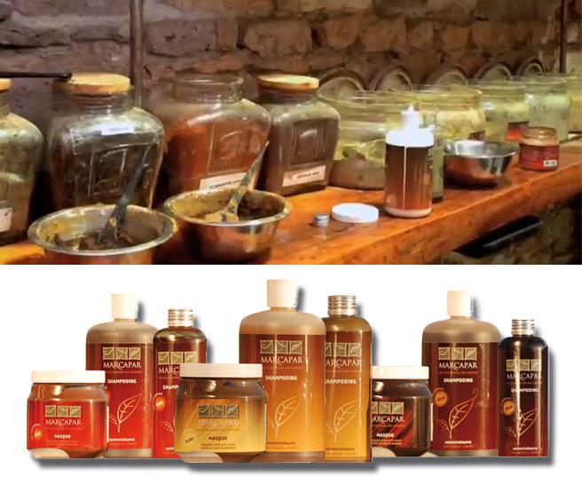 100 natural products - Marcapar Coloration